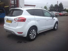 Ford KUGA TITANIUM 2.0 DIESEL TDCI 2011 only 48000 miles FSH MOT ONE YEAR fully colour coded