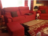 3-4 Seater Sofa and Standard Chair