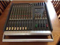 Powered mixer desk