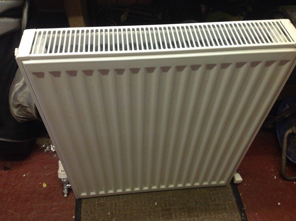 Double panelled radiator