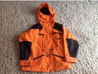 Tenson MPC Function orange ski jacket and fleece. Excellent condition. £30