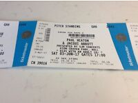 4 Tickets for Paul Heaton and Jacque Abbot 3 rdJune Hull KCOM Craven Park