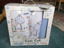 Cosi Cot Bedding Set
