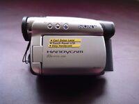 Sony Handycam. 20 x optical zoom, 800 x digital zoom.