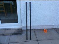 2 Thule roof bars 120cm