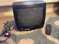 14ins Bush Analogue TV with Booster Box