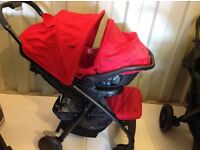 Joie muze travel system immaculate condition