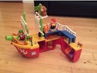 Kiddieland Activity Pirate Ship