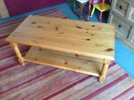 A Pine Coffee Table