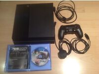 PS4 500 Gig model, with PES 2017