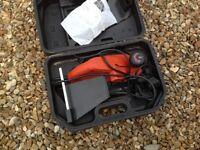 Black and decker electric planer.storage box.brand new.exellent condition