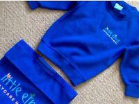 Little Elms nursery sweater and bag