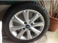 Tyre/wheel - used Ford Fiesta wheel and Michelin tyre 195 60 R15V
