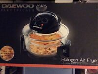 """ NEW "" Halogen 2 in 1 Deluxe Airfryer from DAEWOO"