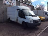 Transit mark 7 2.4 rear wheel drive twin wheeler breaking