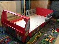 Kidkraft Fire engine bed (and mattress if required) excellent condition