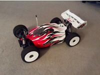 RC car hyper VS brushless buggy (as new)very fast