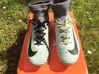 NIKE MERCURIAL FOOTBALL BOOTS SIZE 7 / FIRM GROUND / USED