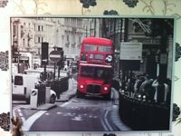 Poster Red Bus in London