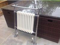 Cast iron silver radiator