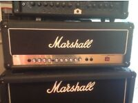 Blackstar ID60 head and Marshall AVT 50