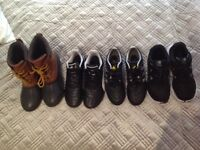 Bundle of boys shoes in very good condition.