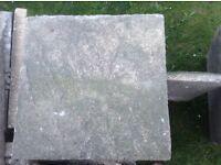Used Bradstone paving slabs