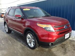 2015 Ford Explorer Limited AWD*Leather*Moonroof*Navi*