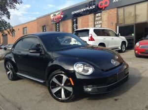 2012 Volkswagen Beetle 2.0T Turbo| NAVI| LEATHER| 6SPD| BLUETOOT