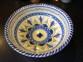 Large Spanish Bowl