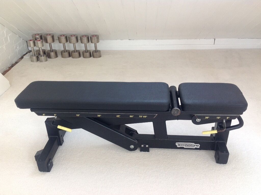 Technogym Commercial Adjustable Exercise Bench In Norwich Norfolk Gumtree