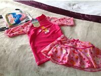 Swimwear Set 4-5 yrs ( brand new)