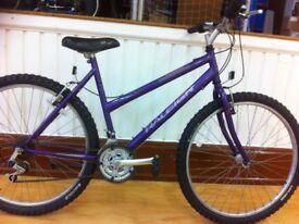 "Ladies Mountainbike - fully refurbished 18.5"" Raleigh Vixen - 26"" wheels, 18-speed, front suspension"