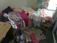 Baby girl and toddler clothes