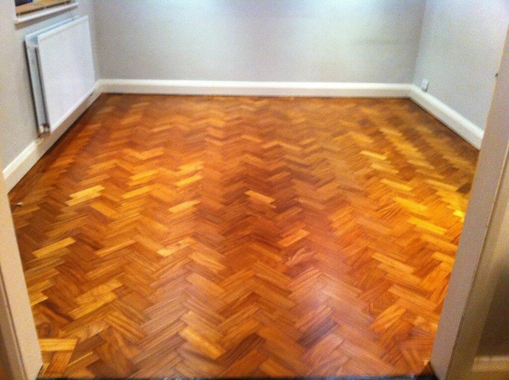 70m2 Of Reclaimed Teak Parquet Flooring Wood Block In