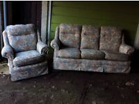3 seater sofa and chair in good condition. No pets and non smoking