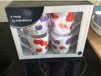 Four new mugs