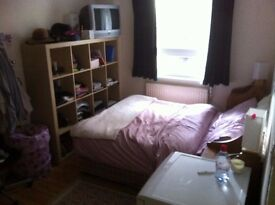 Large, clean, quiet, ample window on private garden, double room, flat only 1 person to share