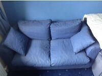Blue Sofa Bed, Excellent Condition, 150x80cm