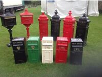 Post Boxes (GARDEN FURNITURE PATIO HOUSE NEW)