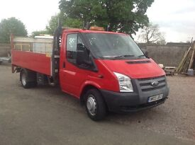 FORD TRANSIT DROPSIDE WITH TAIL LIFT