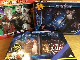 Doctor Who jigsaws and Gift Set