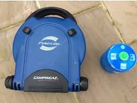 Campingaz Fold n Go camping stove with gas canister