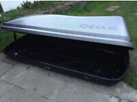 Roof box - Exodus 470l grey