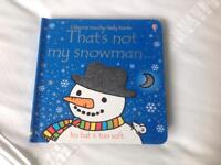 That's Not My Snowman - Children's book