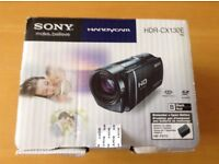 Sony Handycam HDR-CX130E Camcorder IMovie Unused and Boxed