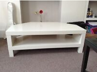 White tv stand. For free to anyone who can come and collect it