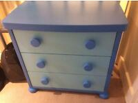 Ikea Childs three drawer chest