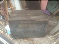 Old tool boxs