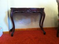 Antique D table, in very good condition. Buyer need to collect.